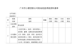 广州现场检查小贷公司:利率、杠杆率、经营资质都是被查对象