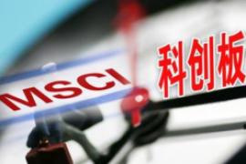 MSCI季度调整,首纳科创板股票